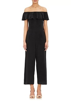 L'Agence Women's Nicolle Washed Silk Jumpsuit