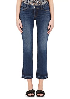 L'Agence Women's Pacifica Flared Crop Jeans