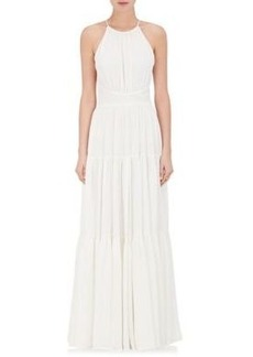 L'Agence Women's Penelope Silk Maxi Dress
