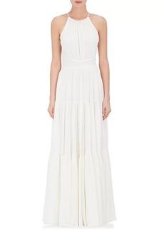L'Agence Women's Penelope Silk Maxi Dress