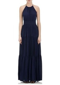 L'Agence Women's Penelope Silk Sleeveless Maxi Dress