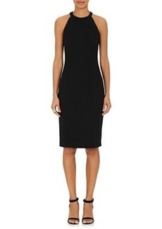 L'Agence Women's Ponte-Knit Halter Dress