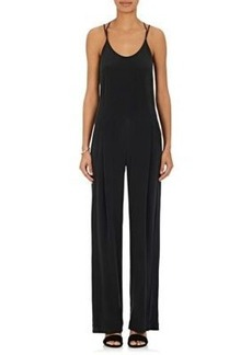 L'Agence Women's Poppy Silk Jumpsuit