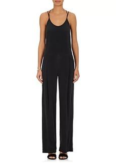 L'Agence Women's Poppy Silk Jumpsuit
