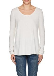 L'Agence Women's Preston Knit & Silk Sweater