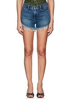 L'Agence Women's Ryland Denim Cutoff Shorts
