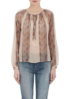 L'Agence Women's Silk-Blend Blouse