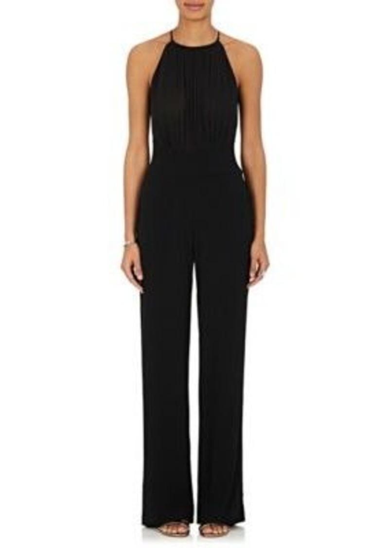 L'Agence Women's Silk-Bodice Jumpsuit