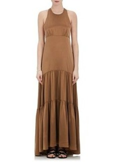 L'Agence Women's Silk Sleeveless Maxi Dress