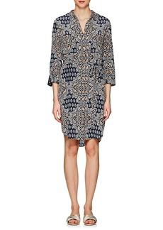 L'Agence Women's Stella Paisley Silk Shirtdress