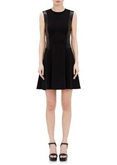 L'Agence Women's Stephanie Fit & Flare Dress