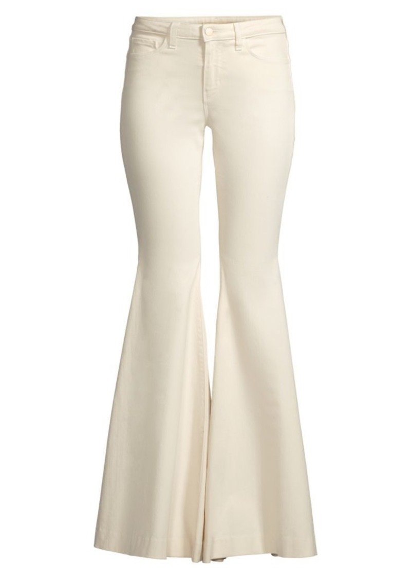 L'Agence Lorde High-Rise Flare Pants