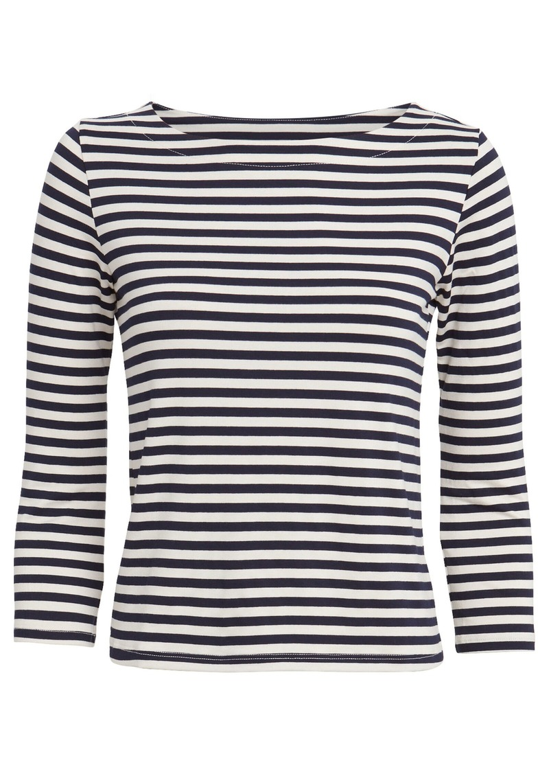 Lucy Striped Jersey Top