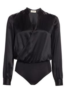 L'Agence Marcella Silk Bodysuit