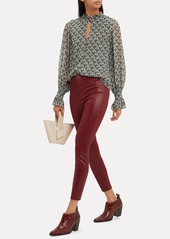 4ab99df38757 ... L Agence Margot Berry Coated High-Rise Ankle Skinny Jeans ...