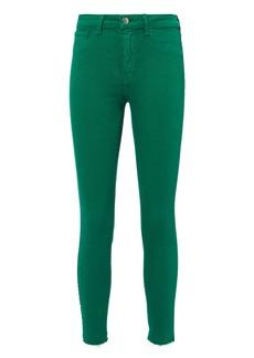 L'Agence Margot Emerald Skinny Jeans