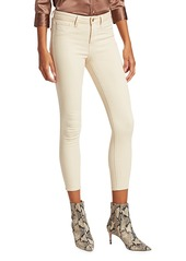 L'Agence Margot Low-Rise Cropped Skinny Jeans