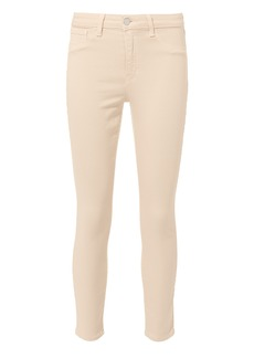 L'Agence Margot Quartz High-Rise Ankle Skinny Jeans