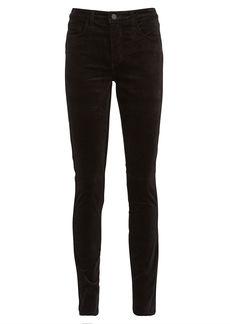 L'Agence Marguerite Velvet Skinny Jeans