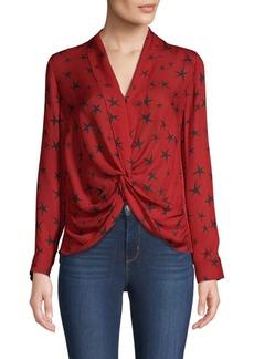 L'Agence Mariposa Star Silk Blouse