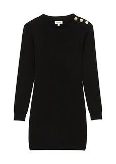 L'Agence Minette Long-Sleeve Knit Dress