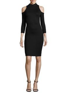L'Agence Nico Cold Shoulder Dress