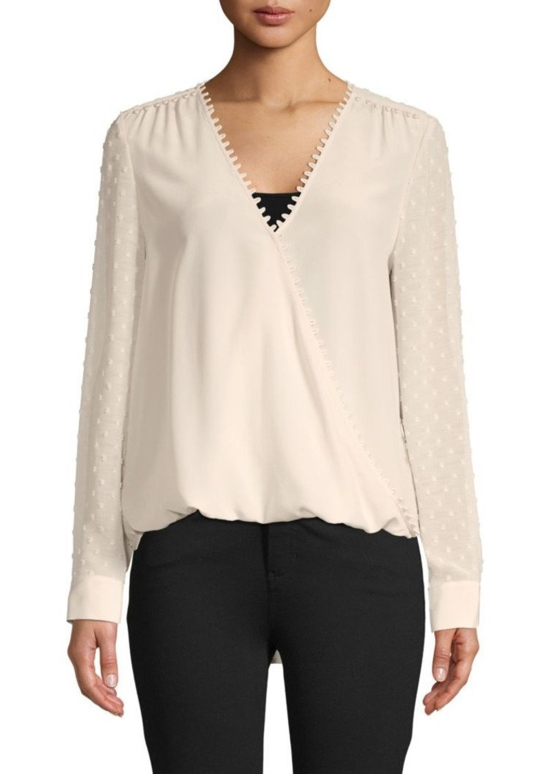 L'Agence Perry Wrap Blouse