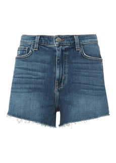 L'Agence Ryland Cut-Off Denim Shorts