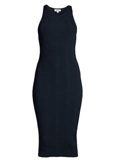 L'Agence Shelby Rib-Knit Bodycon Dress