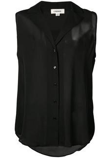 L'Agence sleeveless shirt