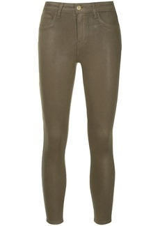 L'Agence slim fit cropped trousers