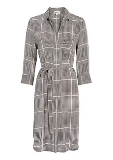 L'Agence Stella Plaid Shirtdress