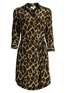 L'Agence Stella Silk Safari Dress