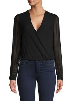 L'Agence Tasha Silk Bodysuit