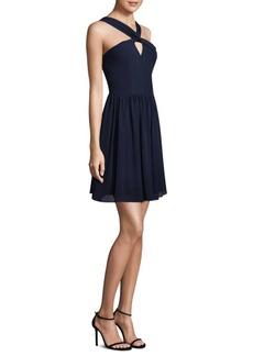 L'Agence Valetta Silk Mini Dress