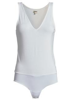 L'Agence Winnie Deep V-Neck Bodysuit