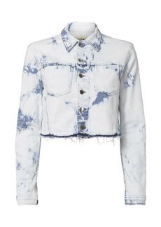 L'Agence Zuma Bleached Cropped Jacket