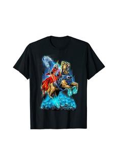 L.A.M.B. 4 Horsemen Of The Apocalypse Jesus Revelation 6:1-8 Gift T-Shirt