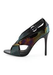 L.A.M.B. LAMB Beverlee Perforated Sandal