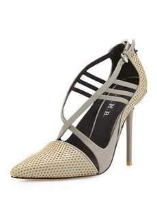 LAMB Boston Strappy Perforated Pump