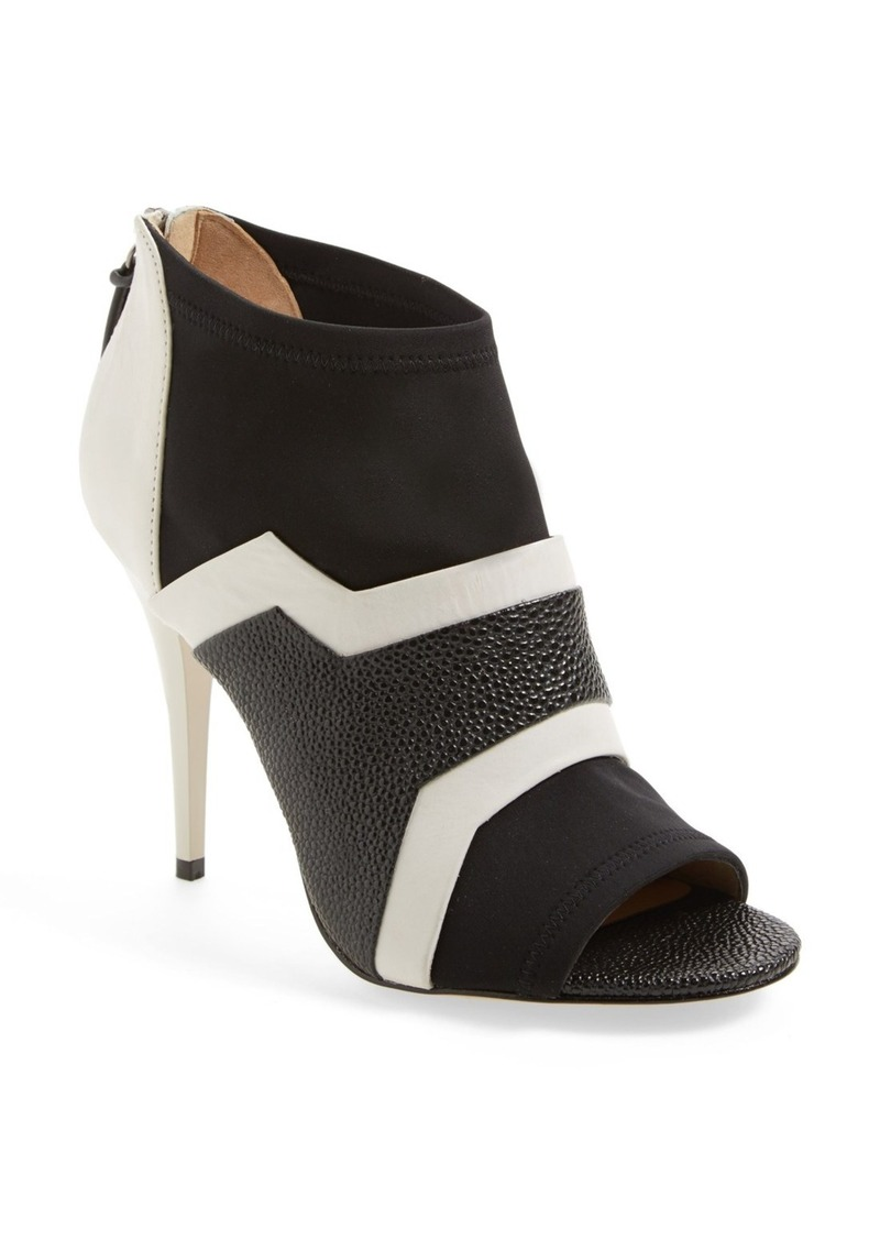 L.A.M.B. 'Deedra' Neoprene & Leather Bootie