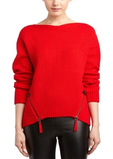 L.A.M.B. L.A.M.B. Wool-Blend Ribbed Sweater