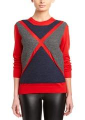 L.A.M.B. L.A.M.B. Wool Ribbed Flag Sweater