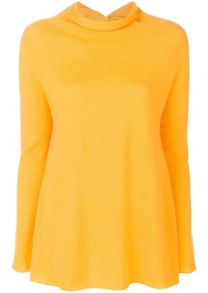 Lamberto Losani roll-neck sweater - Yellow & Orange