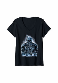 L.A.M.B. Womens 4 Horsemen Of The Apocalypse Revelation 6:1-8 Gift Tshirt V-Neck T-Shirt