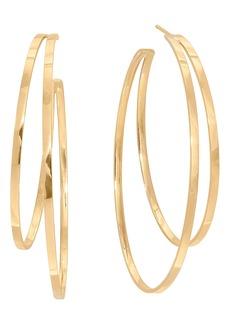 Lana Jewelry Double Hoop Earrings