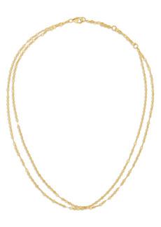 Women's Lana Jewelry Double Blake Chain Choker Necklace