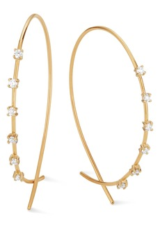 Lana Jewelry Women's Lana Solo Small Upside Down Hoop Earrings
