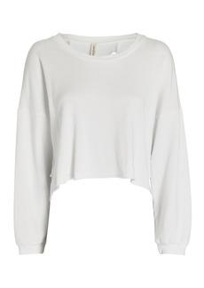 Lanston Back Cut-Out Sweatshirt