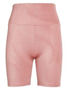 Lanston Mindful High-Rise Bike Shorts